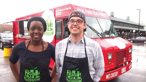 Dudley food truck rolls out