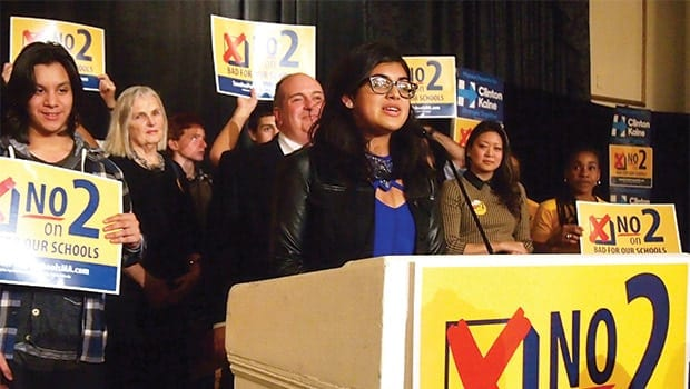 Charter school question suffers defeat at polls
